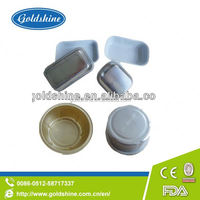 Goldshine Supply Aluminium foil containers for food grade disposable aluminum food tray