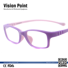 China Manufacturer New Cute Model Rubber Optical Reading Glasses Frame For Children