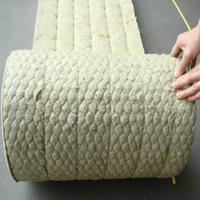 Rock wool isolated material for wall and roof