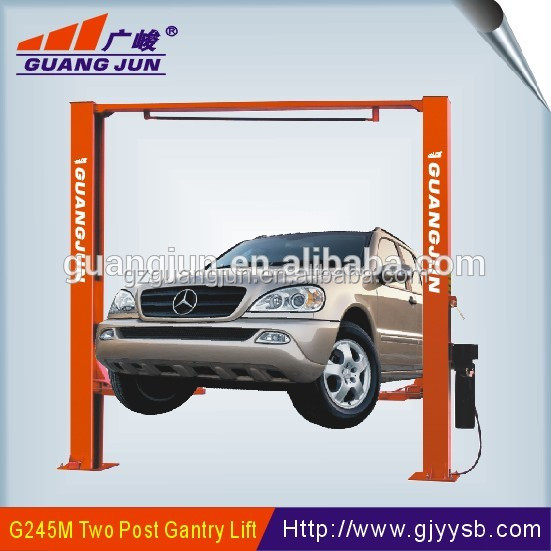 4.5 tons gantry single point releaase car lift