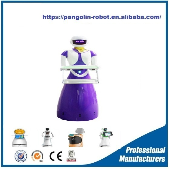 Factory OEM multifunctional mini smart restaurant robot with high quality