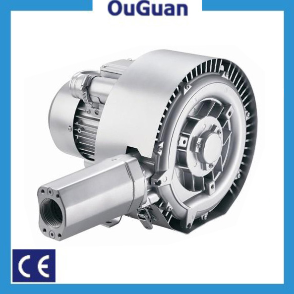 light weight double stage side channel vacuum blower