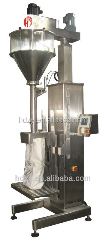 High quality flour filling and packing machine 5 to 50kg, pouch packing machine for flour