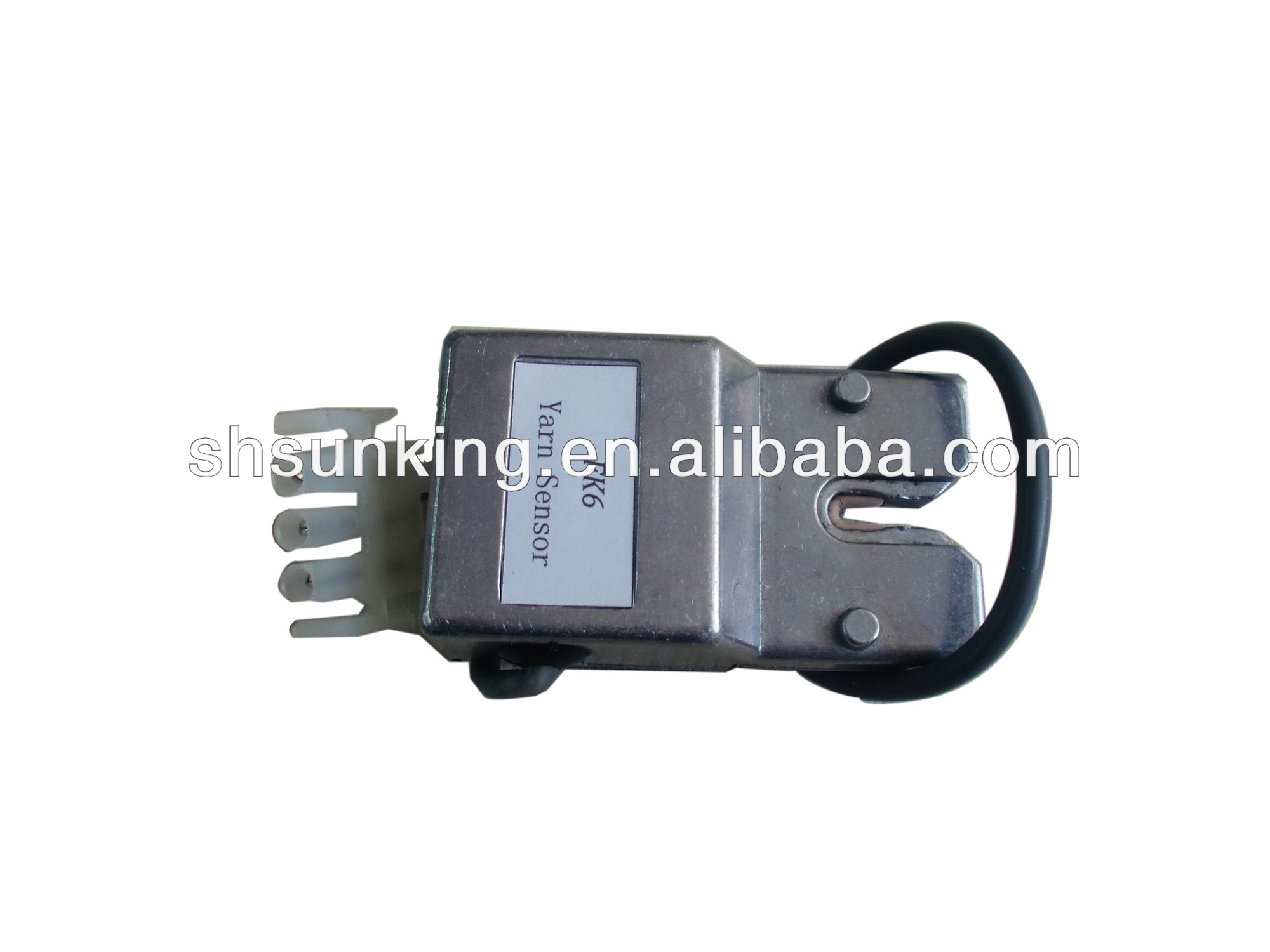 Yarn sensor for textile machine parts