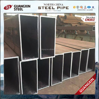 cold rolled carbon steel iron pipe rectangular tube black hollow rectangular steel tube