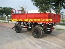 tractor towing cargo trailers