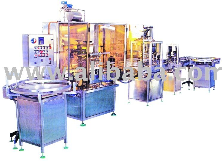 Automatic Linear Bottle Filling Machine