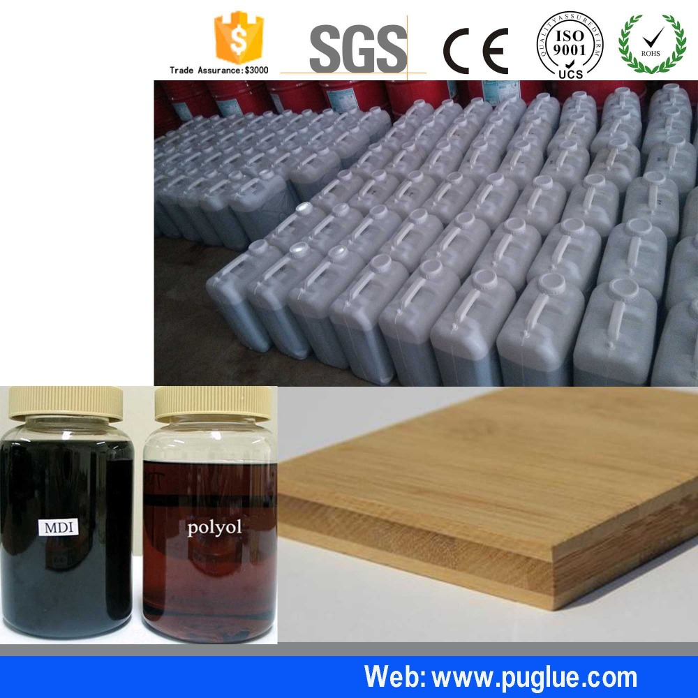 Super one component adhesives and glues with high temperature resistance for rock wool sandwich panel