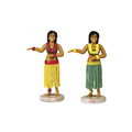custom design plastic dancing hula girl figurine