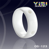 precision machining ceramic ring rhinestone bead bracelets white zirconia ceramic ring