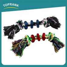 TOPRANK Soft Colored Cotton Rope,Twist Cotton Rope For Crochet Sale,Organic Pet Toy For Dog Wholesale Eco-friend Cotton Rope Toy