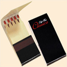 Hotel restaurant promotion 10pcs/box safety book matches