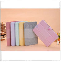 book style 3 folding Leather case For apple ipad mini tablet