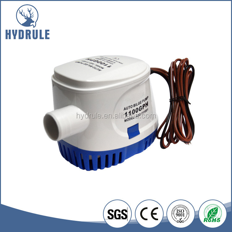 Small Electric Water Pump 600GPH 12V For Marine
