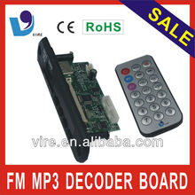 MP3 player pcb board for home theatre system