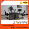 Two person workstation/office furniture workstation