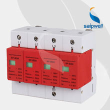 SAIP/SAIPWELL (SP-B30 4P) Wholesale High Quality Lightning Arrester 11KV Electric Surge Protector