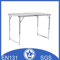 Foldable Aluminium Picnic Table, GS and EN131 approval