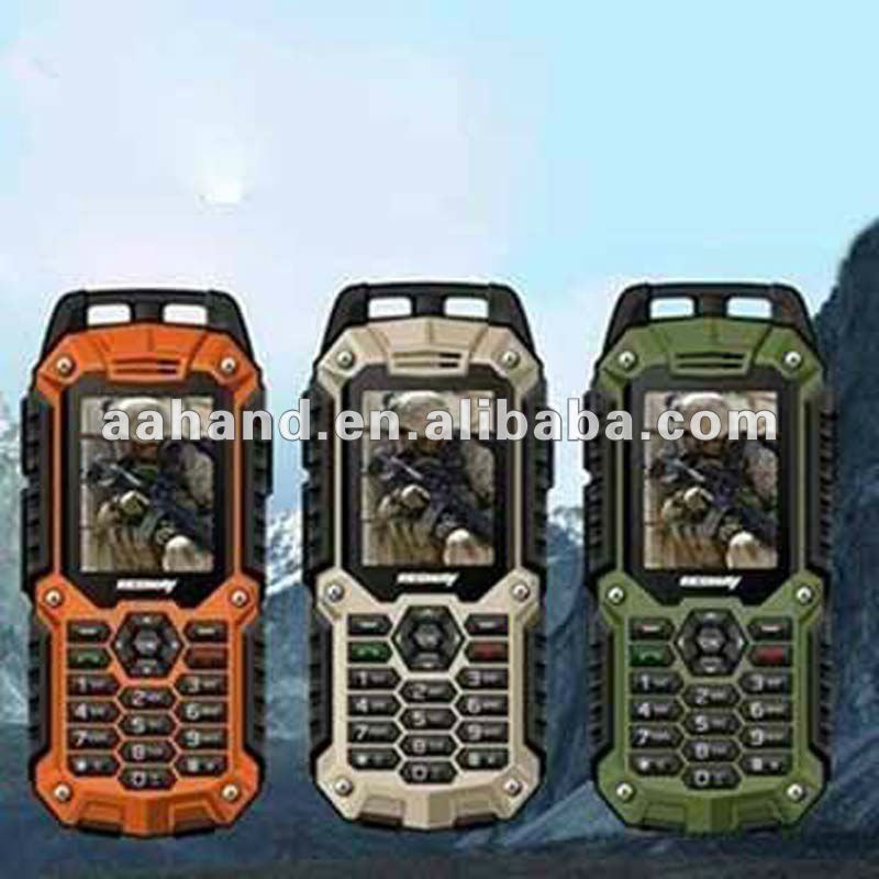 T99 Outdoor Sports Cell Phone with GPS waterproof/dustproof/shockproof dual SIM cards GPRS