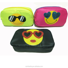 Light weight large capacity polyester cosmetic bag Cool Pencil case