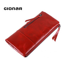 Magic Organizer Women Genuine Leather Old Fashion Style Wallet
