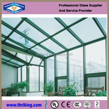 Thriking Hot sale exterior laminated building glass walls