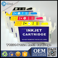 T1321 T1322 T1323 T1324 ink cartridge for Epson T22 TX120 refillable cartridge