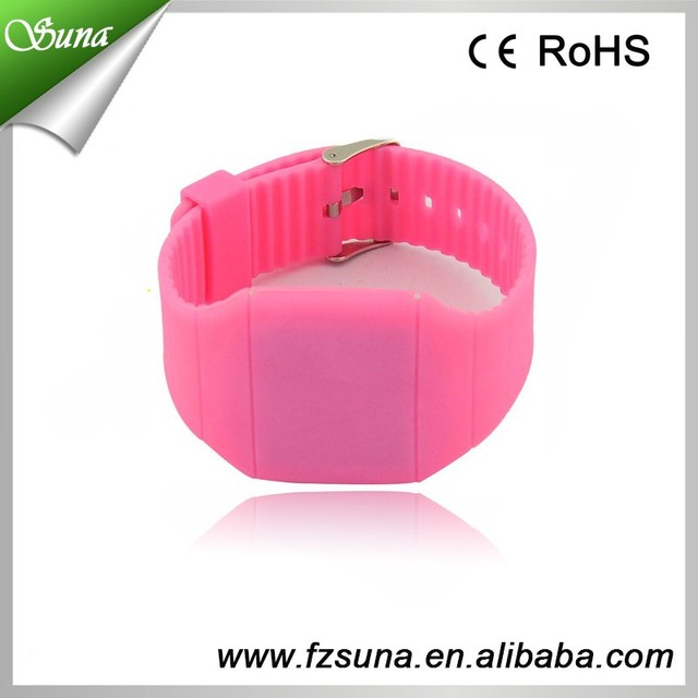 Wholesale Price Square Shaped Touch Screen Calculator Watch