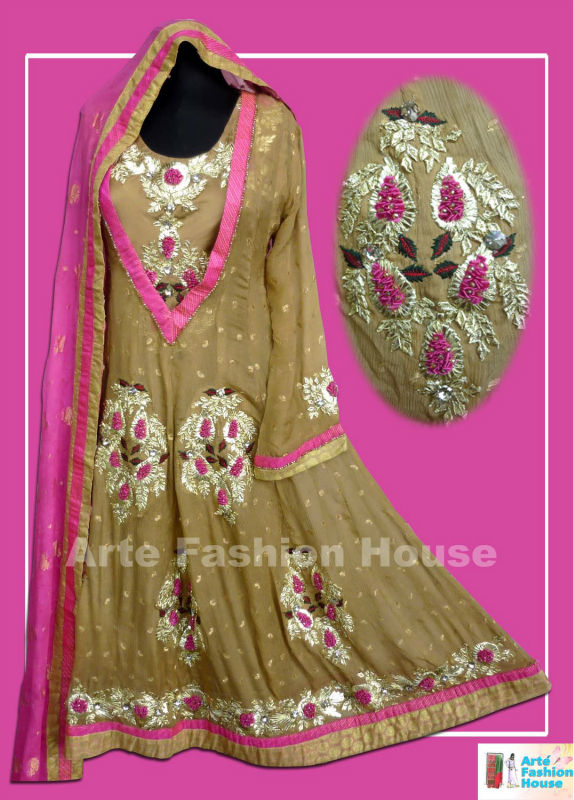 latest party wear anarkali frock