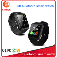 fashionable u8 bluetooth smart wrist watch phone mate for ladies and gentlemen