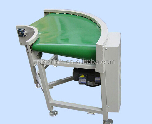 90 degree curve belt conveyor design made in china low price