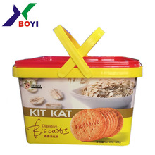 2018 high quality in-mould label/IML for ice cream cup label/boxes label