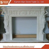 Buy Direct From China Wholesale White Marble Fireplace