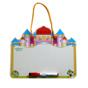 sling castle design framed customisable children's writing board