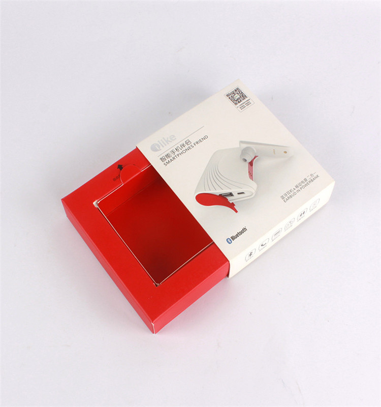 Cheap drawer box packaging/slide open paper box wholesale
