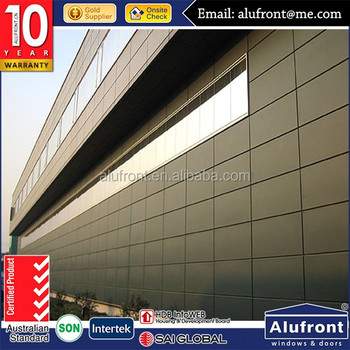 Top quality ACP Aluminum composite curtain wall/Aluminum alucobond/ACP cladding curtain wall price