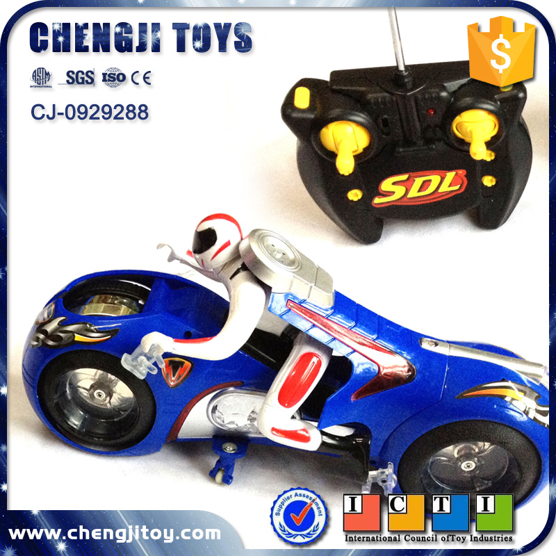 High speed racing moto electric vehicle toy motorcycle 4ch rc drift motorbike for kids