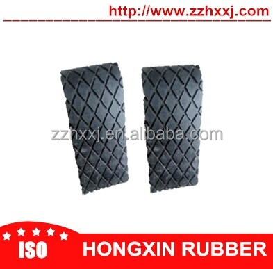 Specialized industrial black diamond lagging