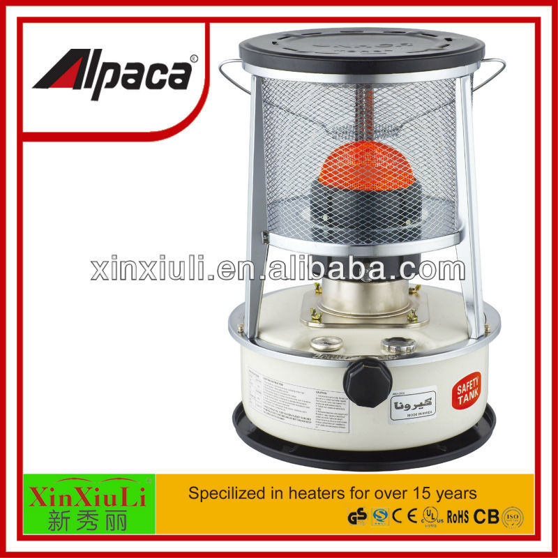 Japanese kerosene Heater with metal chimney safety triple tank 5.3L outdoor heater