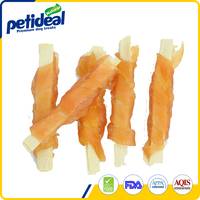 2016 high quality chicken & cod with sesame dog treats , pet snack
