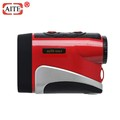 Golf laser rangefinder with vibrating and scanning function for golf course