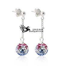 Jewelry Market Top Sell Fashion Jewelry Crystal Earring/Drop Earring, Factory Price Wholesale Alibaba