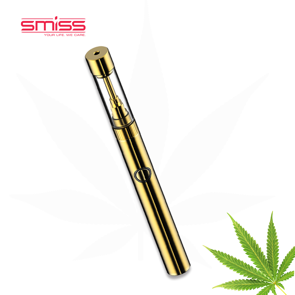 2017 Smiss Mkb Starter Vape Pen Kit 510 Glass Hemp Cbd Oil Atomizer