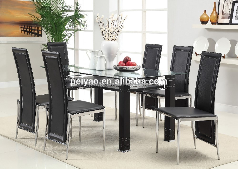 Glass dining room cherry dining room table and for Beli kitchen set
