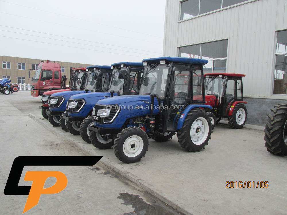 weifang CP machinery agricultural equipment cheap compact top quality 40 hp 4x4 mini tractor in China