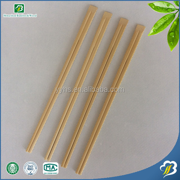 Natural color or Carbonized color Disposable Bamboo chopsticks by personal choice