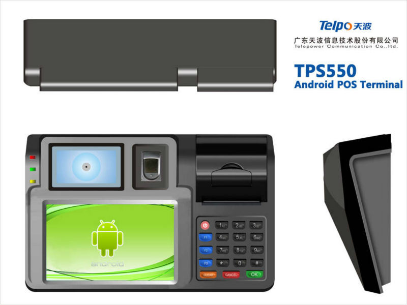 Telpo TPS550 android thermal printer for Airtime top up, Utilities, Loyalty Programs