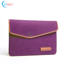 Customized new design 3mm sleeve for ipad/laptop wool felt case