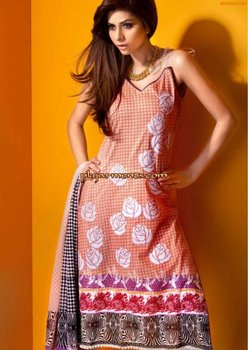Mahnoush Summer Lawn Collection 2012
