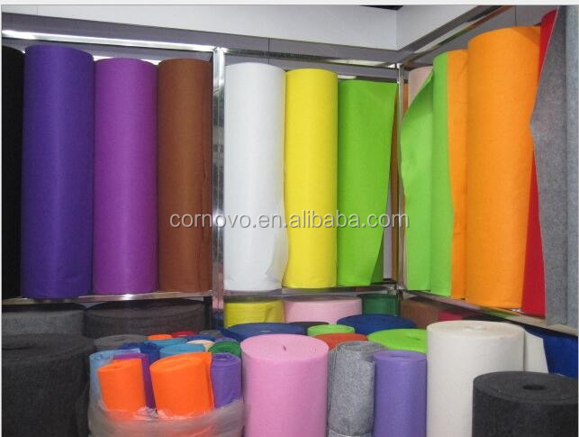 good colour needle punched soundproofing felt factory